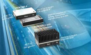 Flex电源模块扩大产品组合,以满足工业和铁路行业不断增长的需求