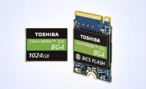 东芝推出采用96层3D闪存的1TB单一封装PCIe Gen3 x4L SSD