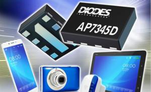 Diodes推出AP7345D系列双低压差稳压器