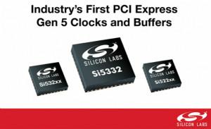 Silicon Labs推出满足最新一代PCIe 5.0规范的完整时钟解决方案组合
