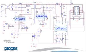 大联大友尚集团推出基于DIODES的18W Type-c PD 3.0充电器解决方案