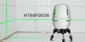 HOLTEK推出HT68F0036大驱动电流I/O MCU