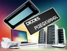 Diodes推出适合服务器、储存及网络市场部门的转接驱动器