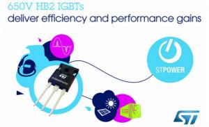 ST 650V高频IGBT利用最新高速开关技术提升应用性能