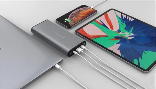 Hyper发布新款HyperJuice双口USB-C移动电源