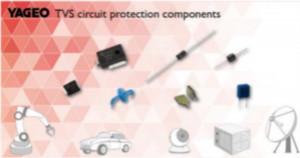 国巨发布TVS系列电路保护元件