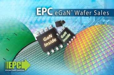 EPC公司推出增強型氮化鎵器件的晶圓