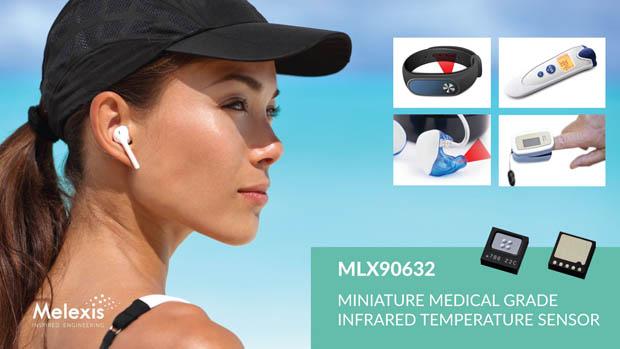 Melexis 宣布推出业界最小的医疗级 FIR传感器