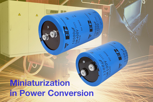 Vishay推出的新系列螺絲接頭鋁電容器