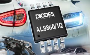 Diodes推出兩款汽車LED驅動器AL8860Q及AL8861Q