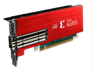 Xilinx推出Alveo U50,擴展其Alveo 數據中心加速器卡產品組合