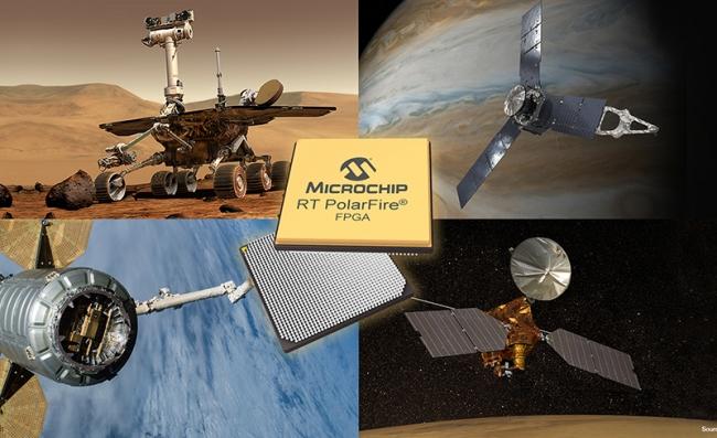 Microchip推出低功耗耐輻射PolarFire FPGA,實現低成本、高帶寬空間系統