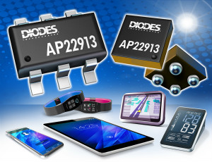 Diodes推出AP22913 2.0A单信道受控回转率负载切换器