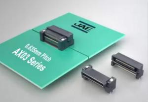 Jae推出水平连接用板对板浮动连接器AX03系列