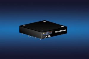 RECOM推出效率为98%的3kW半砖升降压型转换器