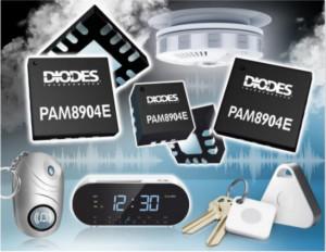 Diode推出一款针对小型和便携式设备的流行发声器驱动程序的增强版