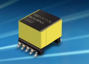 Bourns驰返式电力变压器有效在隔离模式下提升DC/DC电源转换效率