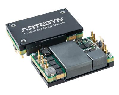 雅特生科技推出高效率 1300W 1/4 磚電源轉換器