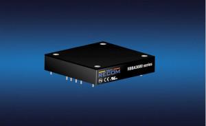 儒卓力开售具有降压-升压拓扑的Recom 半砖型DC/DC转换器