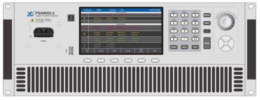 PSA系列新一代可编程交流电源问市,高精度、高性能、多功能