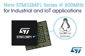 意法半導體擴展了STM32MP1微處理器產品