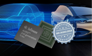 英飛凌的嵌入式安全控制器通過ISO 26262:2018標準ASIL-D認證