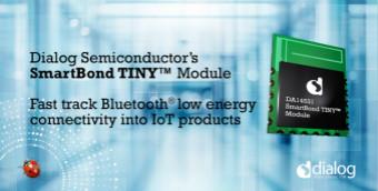 Dialog推出SmartBond TINY模塊,助力加速IoT開發