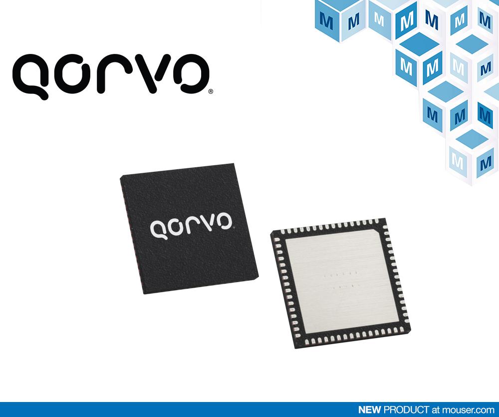 贸泽开售Qorvo的PAC5524 电机控制器和驱动器