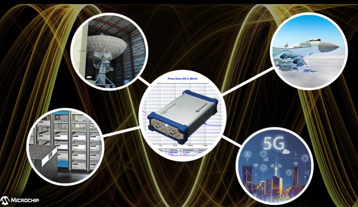 Microchip發布新一代相位噪聲分析儀53100A