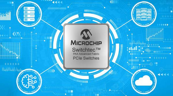 Microchip Switchtec PAX网络互联Gen 4 PCIe交换机现已投产