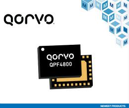 貿澤備貨Qorvo QPF4800雙頻Wi-Fi 6前端模塊