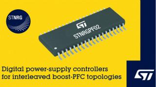 ST推出新的数字电源控制器,为600W-6kW应用带来新选择