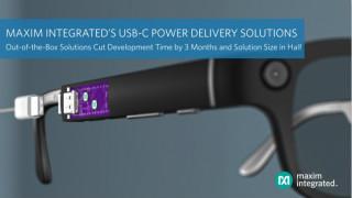 Maxim推出USB-C功率传输方案,开发时间缩短3个月、方案尺寸减小一半