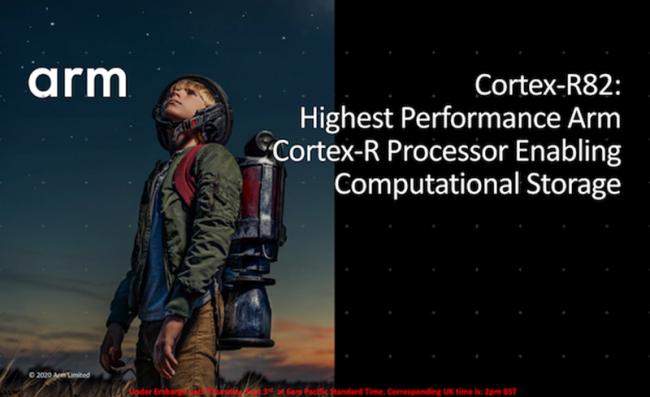Arm发布首款64位实时处理器Cortex-R82