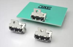 JAE扩展了兼容HDMI 2.1标准规格的DC04系列连接器