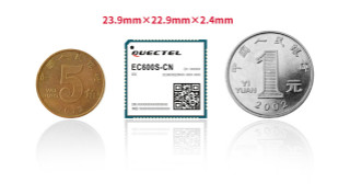 移远通信推出更小尺寸、更具性价比的LTE Cat 1模组EC600S
