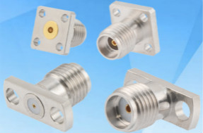Pasternack推出一种新的现场可替�罨�RF连接器系列