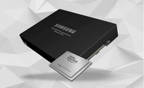 Xilinx 携手三星推出业界首款灵活应变的计算存储驱动器』