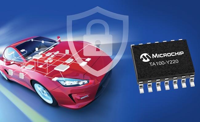 Microchip推出首款加密配套器ζ件,为汽车市你场带来预置安全性
