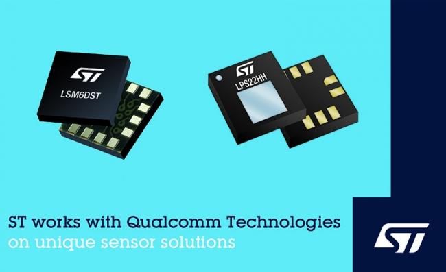 ST与高通科技合作∑ 推出一款6轴惯性测量单元(IMU)的传感☆器解决方案