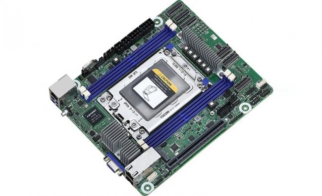 华擎发布ROMED4ID-2T迷你ITX主板 支持AMD霄龙64核处理器