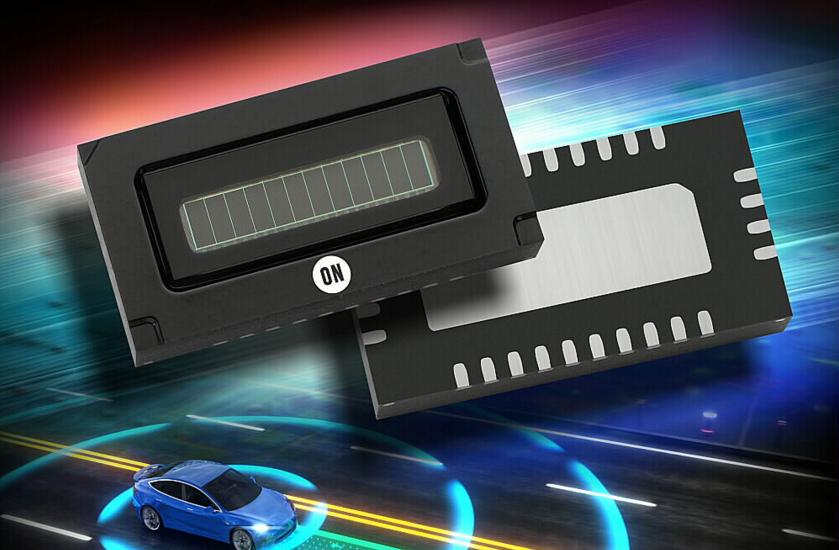 安森美半导体推出世界首款车规硅光电倍增管(SiPM)阵列产品