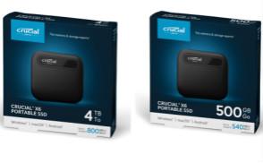 美光扩展了Crucial英睿达X6移动固态硬盘产品