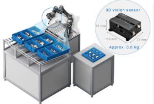 歐姆龍發布用于機器人手臂的新型3D視覺傳感器