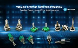 TT Electronics推出了适用于工业应用且体积更小的电位器和编码器