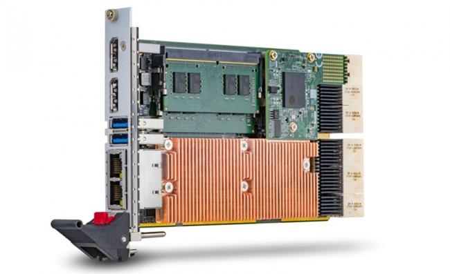 凌华科技推出单槽 (4HP) cPCI-A3525 系列 CompactPCI® Serial处理器刀片