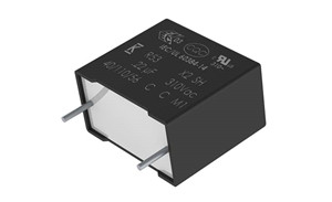 KEMET推出適用於惡劣環境的最小EMI X2(bao)薄膜電容器解決方(an)案