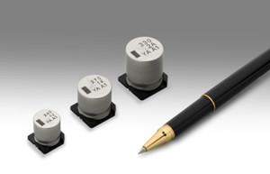 尼吉康推出125℃ 5000小时保证的UYA系列芯片型铝电解电容器