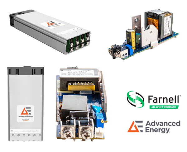 e络盟现货发售Advanced Energy的Excelsys电源