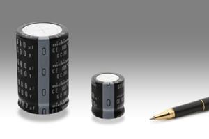 Nichicon推出超小型长寿命105℃ 5000小时保证的基板自立型铝电解电容器